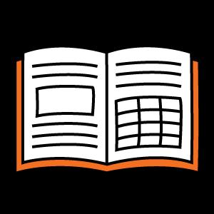Пример сложной верстки книги