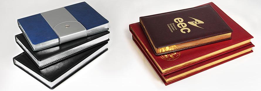 Серебрение и золочение обрезов - ежедневников, блокнотов, книг