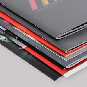 печать каталогов на скобе
